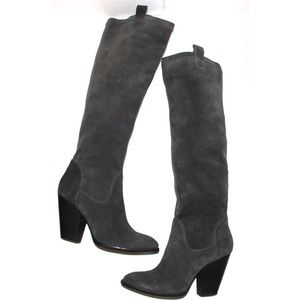 Vince Camuto Braden Grey High Rise Knee high Boot